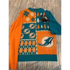 NFL Miami Dolphins Ugly Sweater